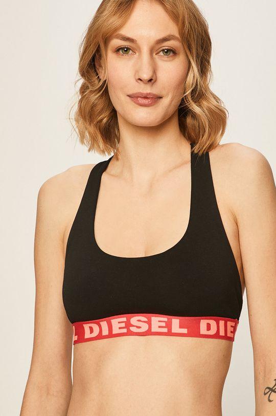 černá Diesel - Sportovní podprsenka Dámský