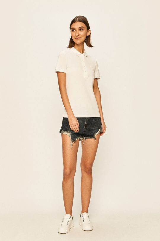 Lacoste - T-shirt biały