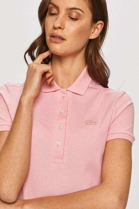 różowy Lacoste - Polo