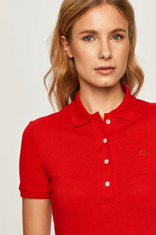 rosu Lacoste - Tricou Polo De femei