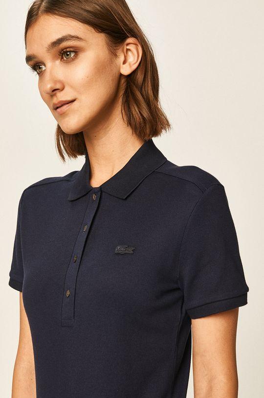 námořnická modř Lacoste - Tričko