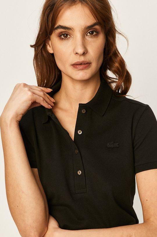 černá Lacoste - Tričko