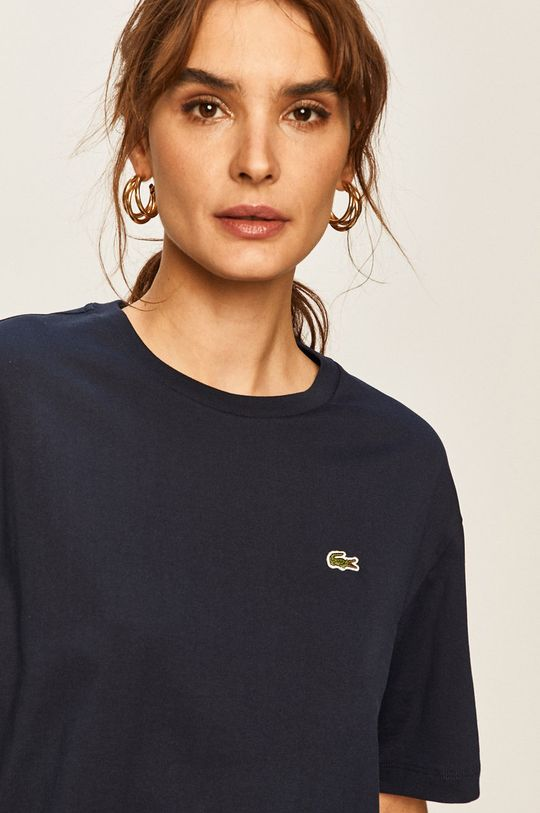 granatowy Lacoste - T-shirt