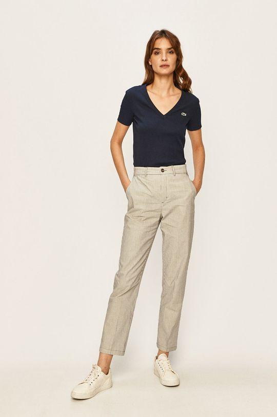 Lacoste - Tričko námořnická modř