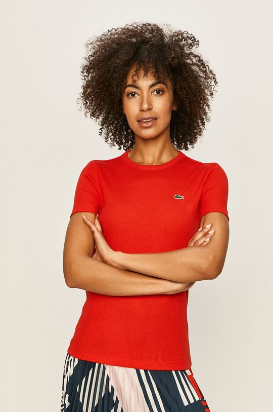 červená Lacoste - Tričko