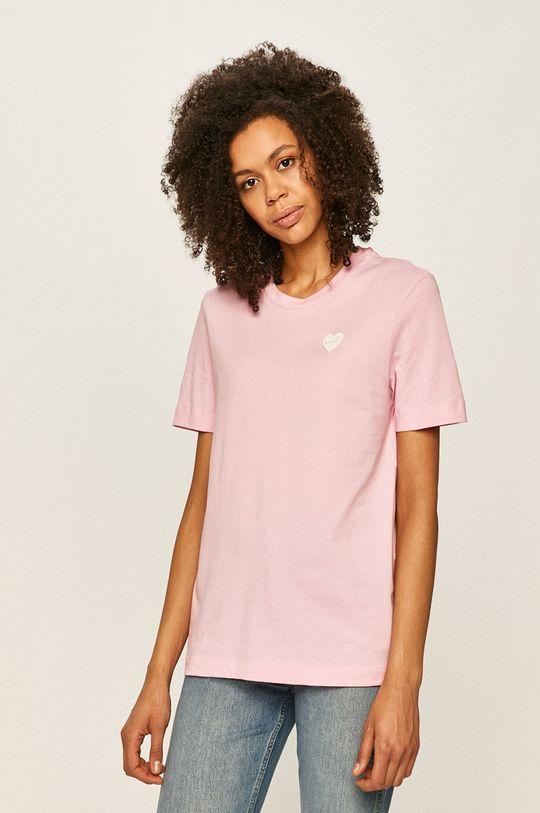 ružová Love Moschino - Tričko