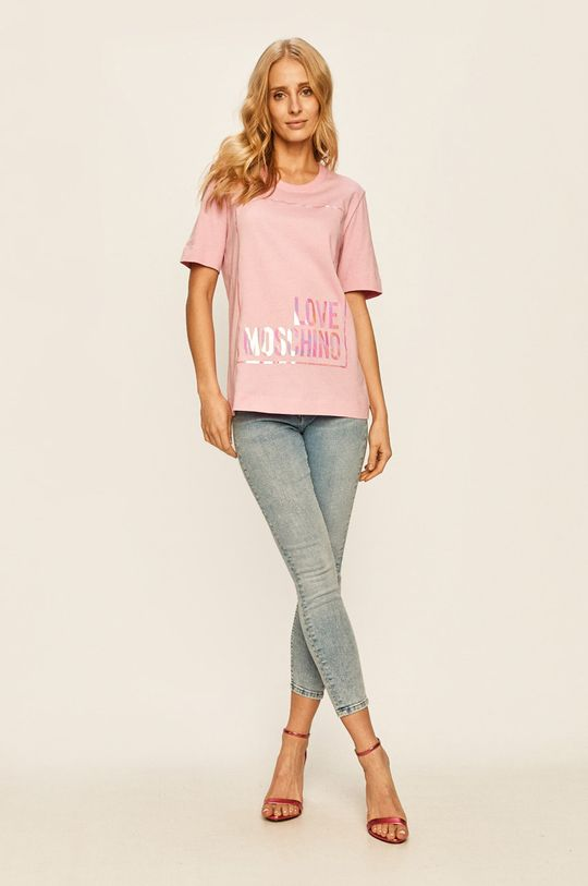 Love Moschino - Tricou roz