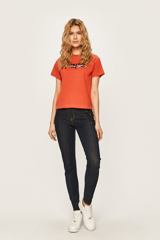 Pepe Jeans - Tričko PEARL červená