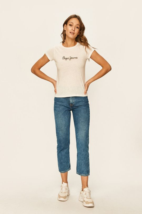 Pepe Jeans - Tričko Daisy bílá