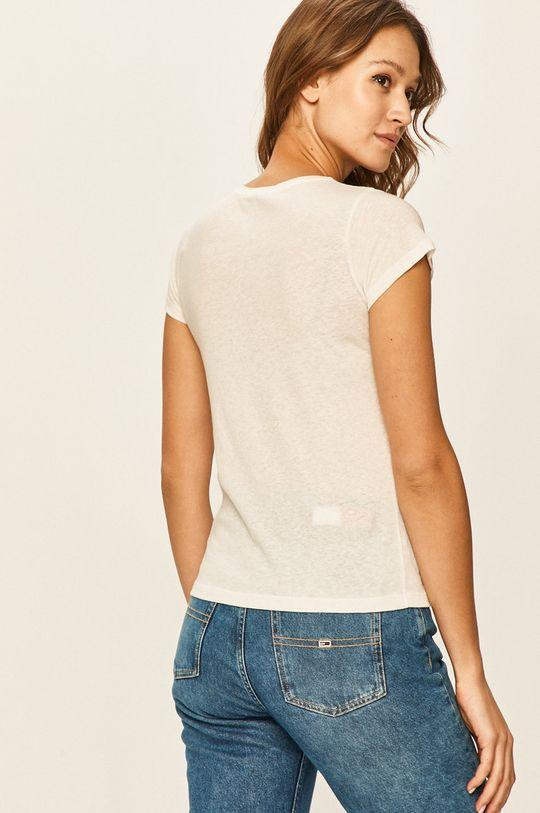 Pepe Jeans - Tričko Daisy 40% Bavlna, 30% Len, 30% Polyester