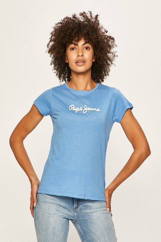 niebieski Pepe Jeans - T-shirt Daisy