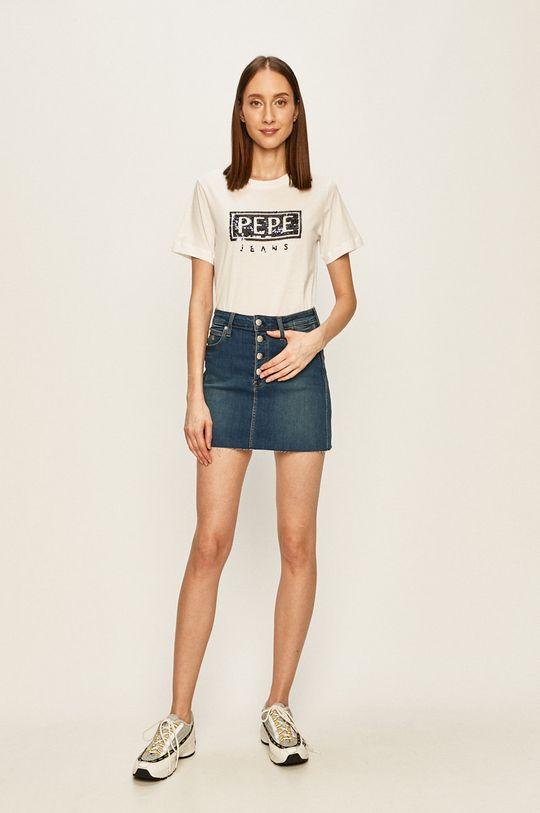 Pepe Jeans - Tricou Charis alb