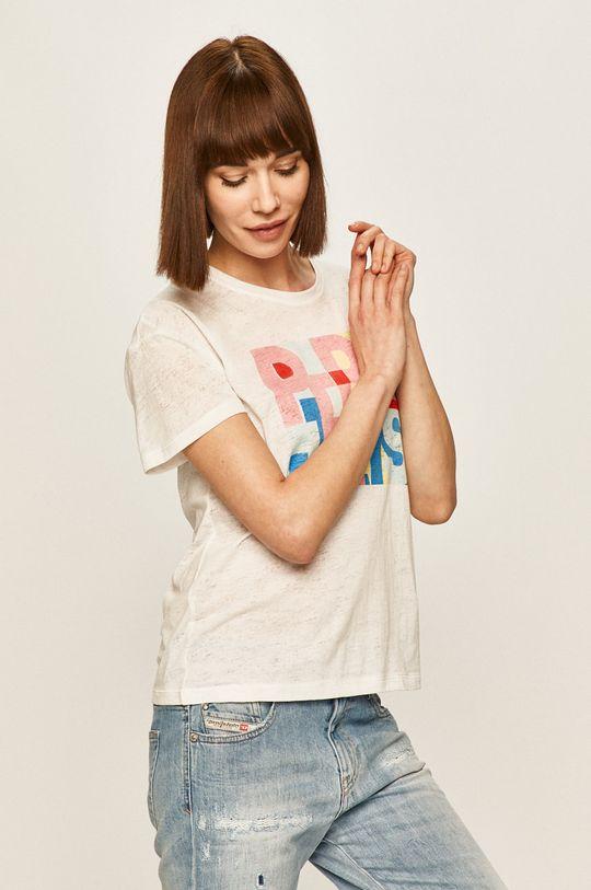 biały Pepe Jeans - T-shirt Brooke