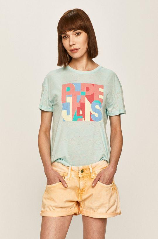 světle modrá Pepe Jeans - Tričko Brooke