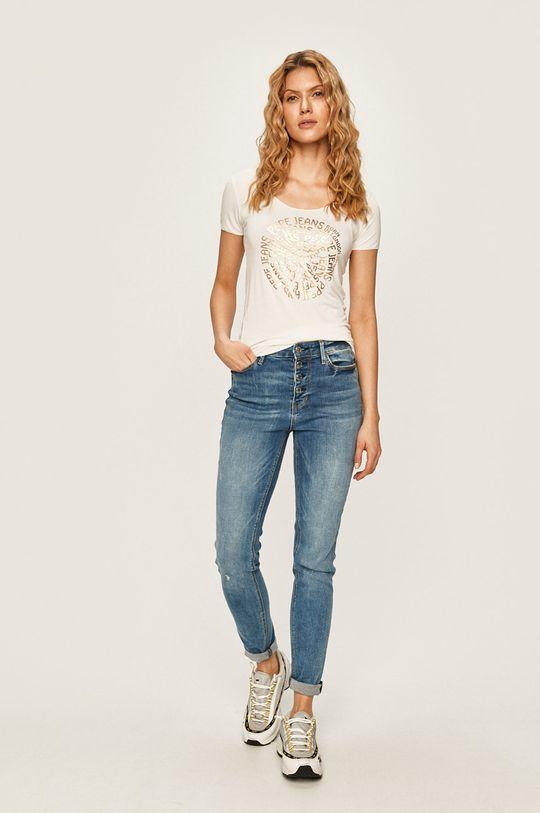 Pepe Jeans - Tričko Blair bílá