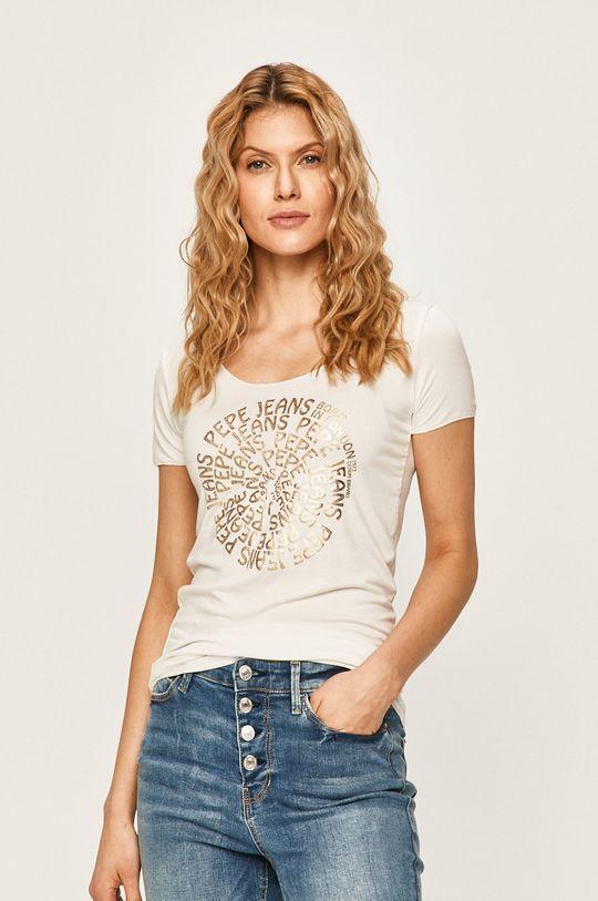 bílá Pepe Jeans - Tričko Blair