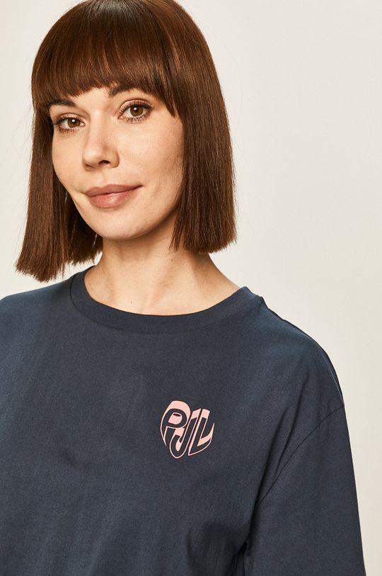 granatowy Pepe Jeans - T-shirt Fleur