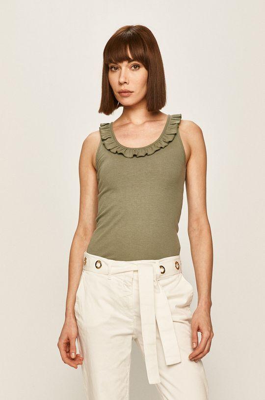 verde murdar Pepe Jeans - Top Diane De femei