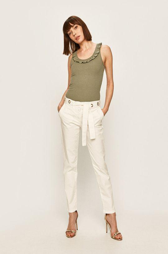 Pepe Jeans - Top Diane verde murdar