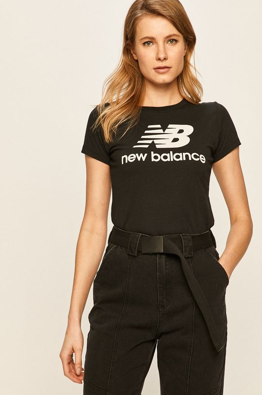 čierna New Balance - Tričko Dámsky