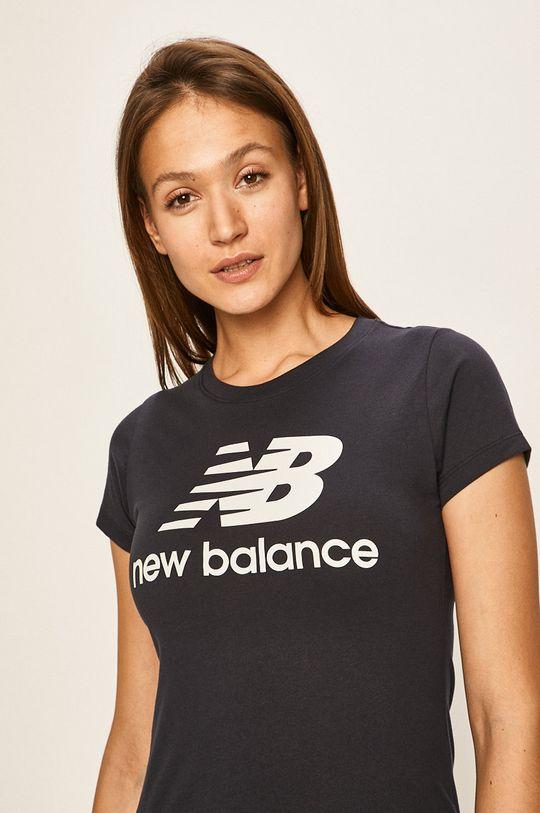 námořnická modř New Balance - Tričko