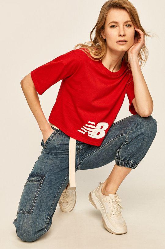 rosu New Balance - Tricou De femei