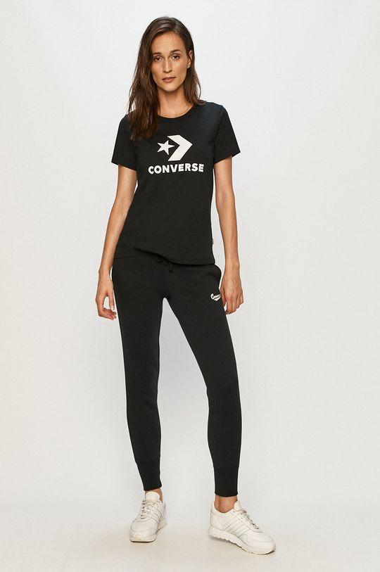 Converse - Tričko černá