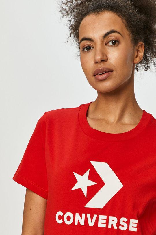 červená Converse - Tričko Dámský