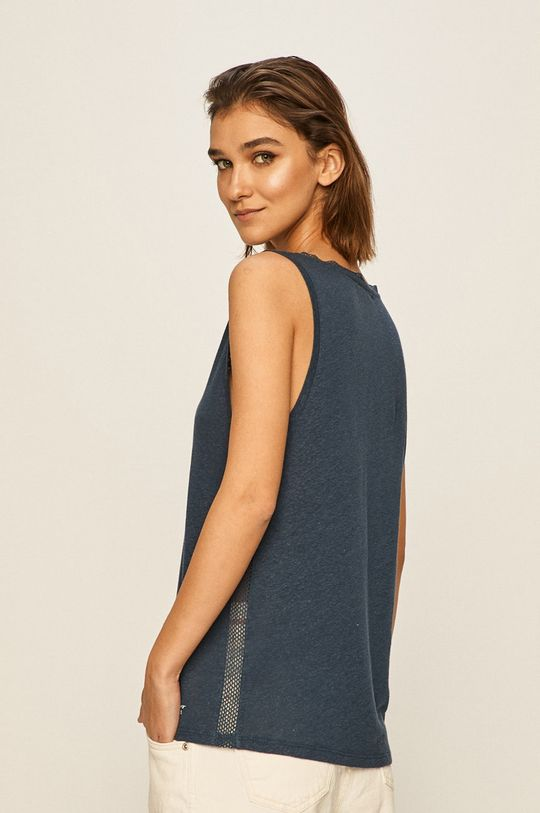 Pepe Jeans - Top Vicky 50% Bumbac, 50% In