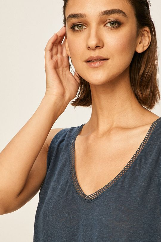 bleumarin Pepe Jeans - Top Vicky