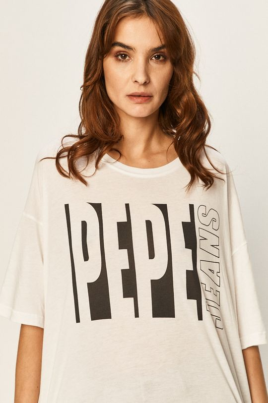 bílá Pepe Jeans - Tričko Gabrielle Dámský
