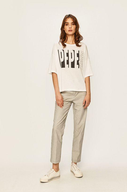 Pepe Jeans - Tričko Gabrielle bílá