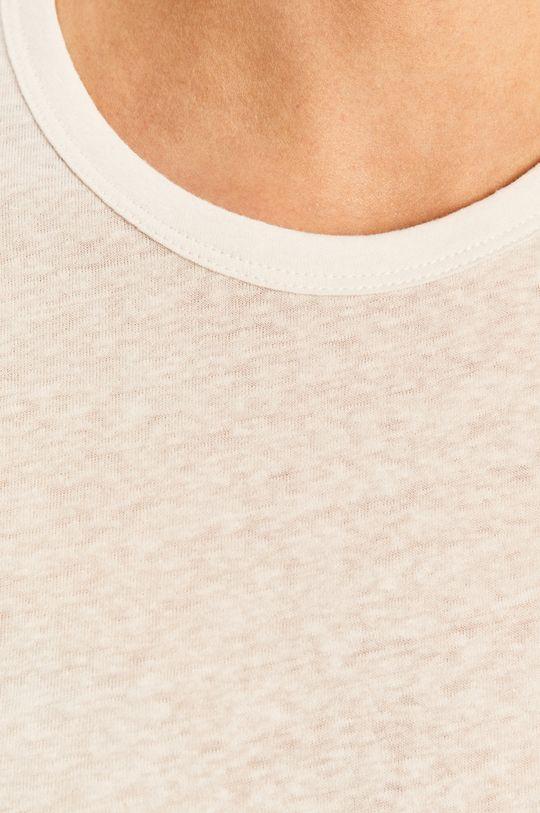 biały Brixton - T-shirt