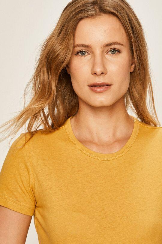 żółty Brixton - T-shirt Damski