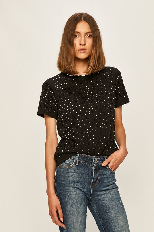 černá Guess Jeans - Tričko Dámský