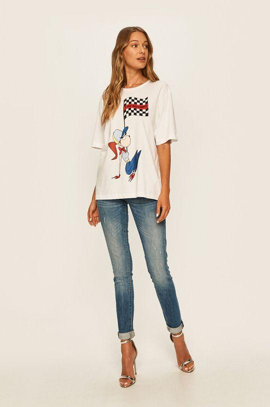 Love Moschino - Tričko bílá