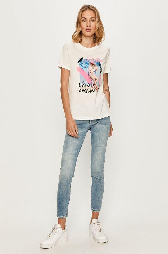Vero Moda - T-shirt biały