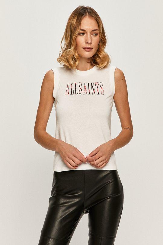 bílá AllSaints - Tričko