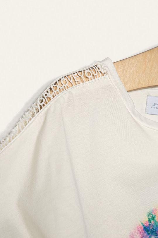alb Desigual - Tricou copii 104-164 cm