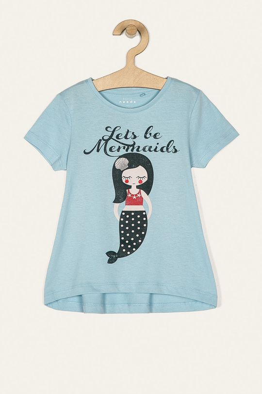svetlomodrá Name it - Detské tričko 92-128 cm Dievčenský