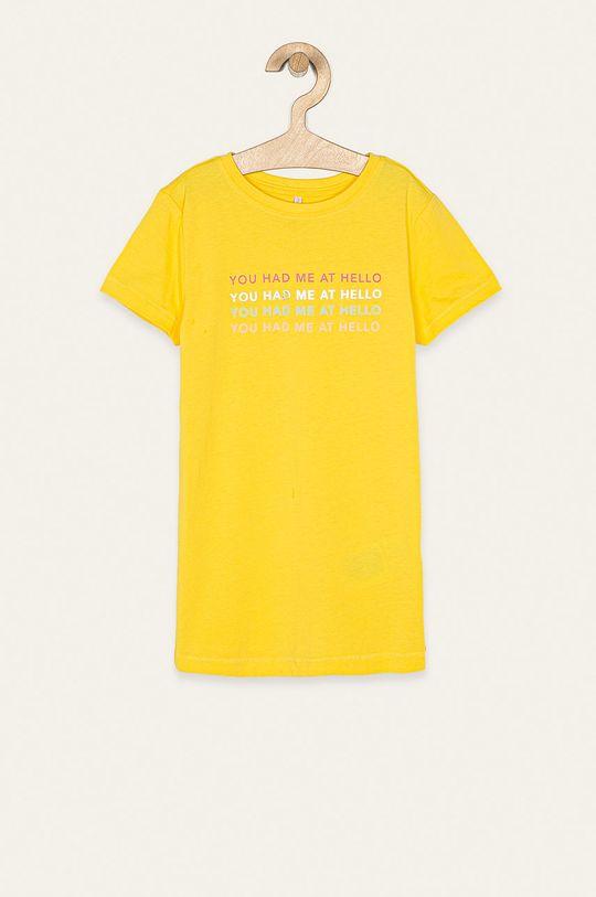 жовтий Kids Only - Дитяча футболка 122-140 cm Для дівчаток