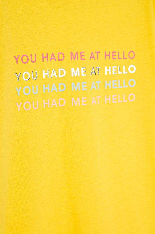 Kids Only - Дитяча футболка 122-140 cm жовтий