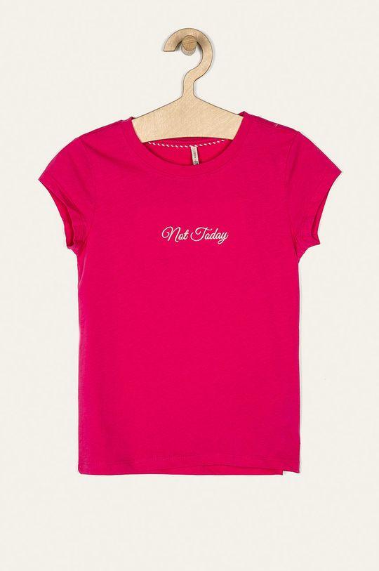 sýto ružová Kids Only - Detské tričko 122-164 cm Dievčenský