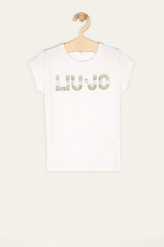 alb Liu Jo - Tricou copii 128/140-164/170 cm De fete