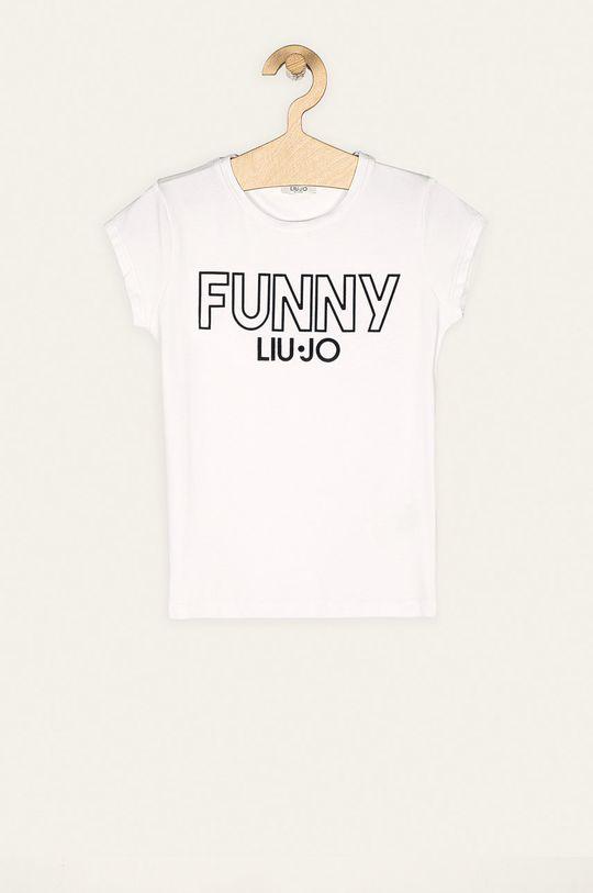 bílá Liu Jo - Dětské tričko 128-170 cm Dívčí