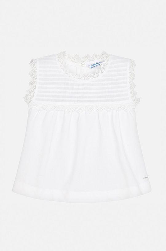 Mayoral - Bluza copii 92-134 cm alb