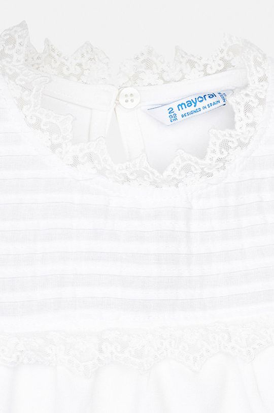 alb Mayoral - Bluza copii 92-134 cm
