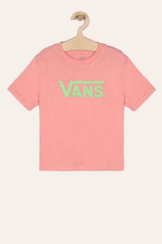 ružová Vans - Detské tričko 129-173 cm Dievčenský