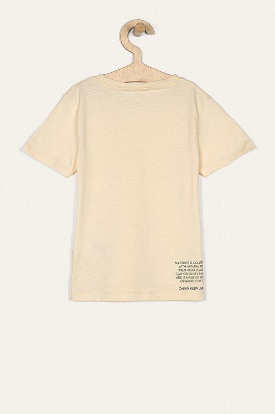 Calvin Klein Jeans - Detské tričko 116-176 cm krémová