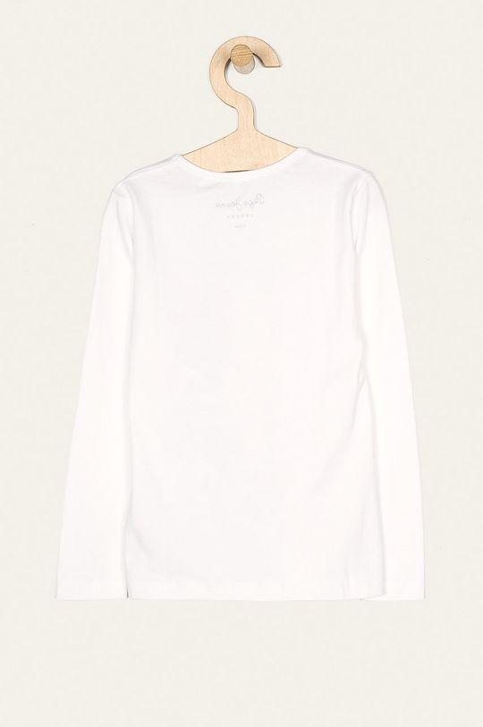 Pepe Jeans - Dětské tričko s dlouhým rukávem Hana Glitter 92-122 cm bílá
